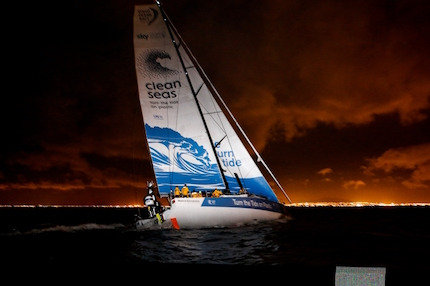 volvo ocean race scallywag batte al fotofinish turn the tide on plastic