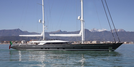 perini navi seven vince il best lighting ai boat international design innovation awards