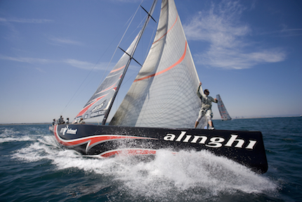 alinghi vince il primo act delle extreme sailing series 8482 2018 muscat in oman