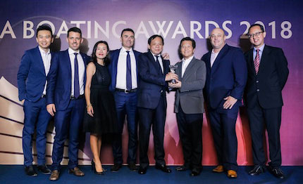 azimut yachts vince il premio best brand presence in asia