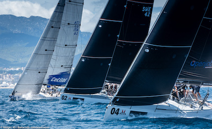 esordio del melges 40 grand prix 2018 232 all insegna dell equlibrio