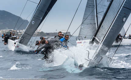 marina di scarlino 232 ancora melges world league con la flotta melges