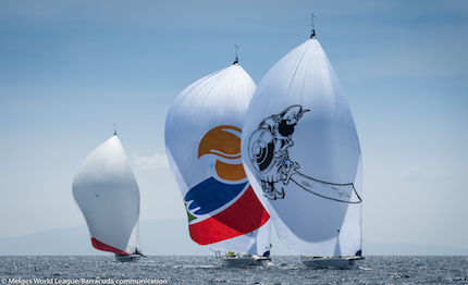 incrocio di risultati equilbrio perfetto alla tappa melges 32 world league di marina di scarlino