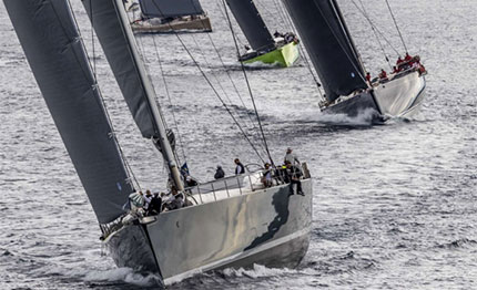 loro piana superyacht regata sugli scudi my song savannah