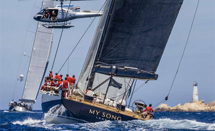 loro piana superyacht regatta vincono my song savannah