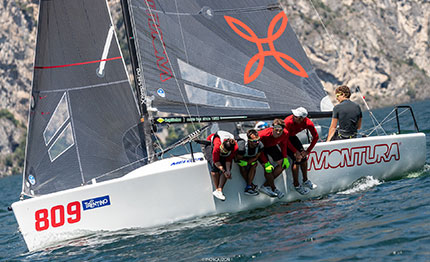 dai team arkano 233 al melges 24 european sailing series