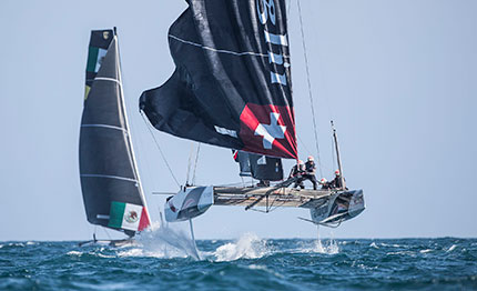 extreme sailing series alinghi domina cascais