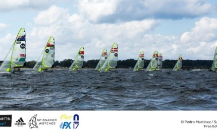 49er 49erfx and nacra 17 european championship gdynia in polonia