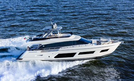 ferretti group al fort lauderdale international boat show 2018