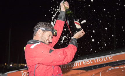 solitaire du figaro anthony marchand vince la prima tappa
