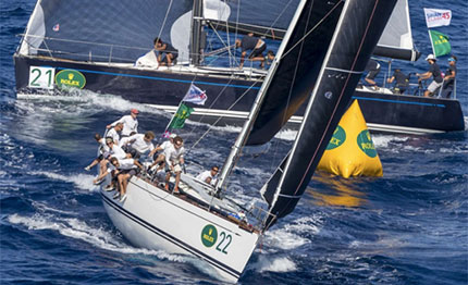 porto cervo la islands long race dei quot cigni quot