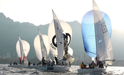 presentate lecco interlaghina optimist il campionato invernale interlaghi