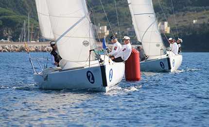 secondo giorno del campionato italiano open match race scarlino