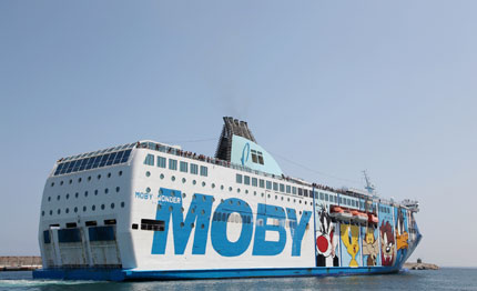 moby tirrenia partner di escursi in tour