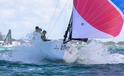 caipirinha sailing team miami per le melges 20 winter series