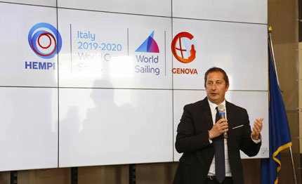 presentata genova la tappa italiana dell hempel world cup series