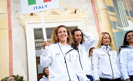 prime regate genova per le hempel world cup series