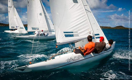 antigua classic week bronzo per il dragone di cortina
