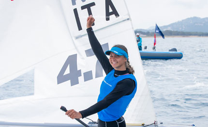alessia palanti oro nel laser youth europeans hy 232 res