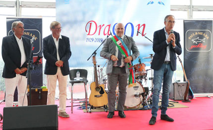 dragon 90th anniversary regatta powered by paul amp shark domani comincia la festa