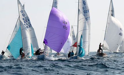il danese out of bounce vince la dragon 90th anniversary regatta