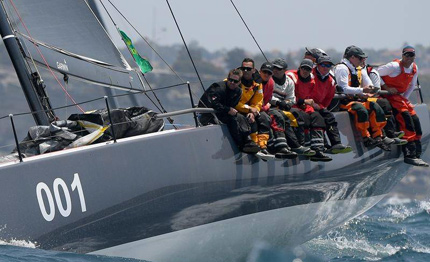 sydney hobart in overall la vince ichi ban