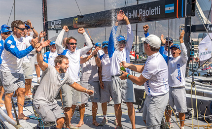 52 super series azzurra vince cape town