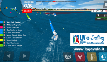 sessanta club 180 velisti alla regata virtuale live sailing club championship