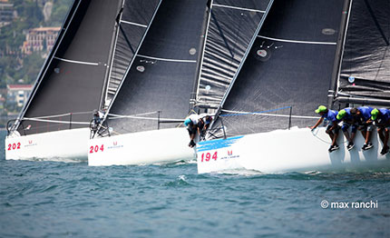 melges 32 world league continua la battaglia sul filo di lana