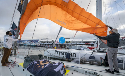 vendee globe un kite per le emergenze
